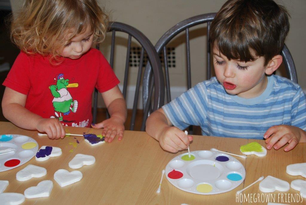 DIY White Clay Recipe Ornaments
