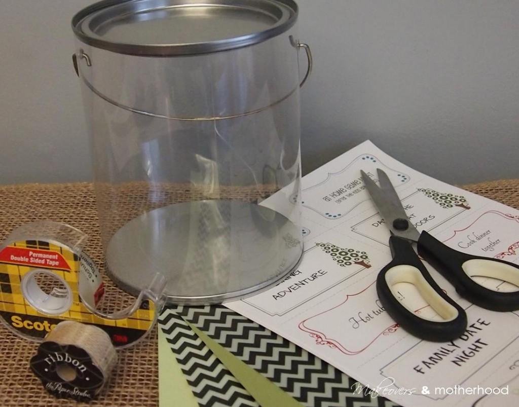 Date Night Ideas Gift supplies