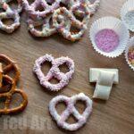 Valentine's Treat: Candied Pretzels