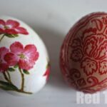 Egg Decorating Ideas – Napkin Decoupage Eggs
