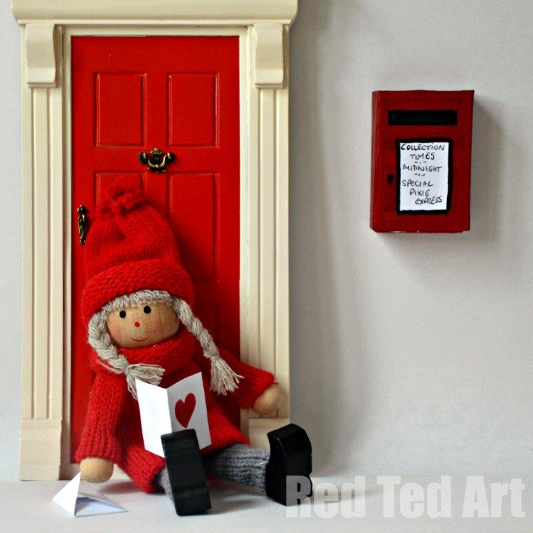 Fairy Letter Printables and Postbox