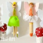 Fairy Peg Dolls by Pip Squeak
