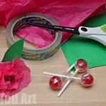Flower Crafts Materials