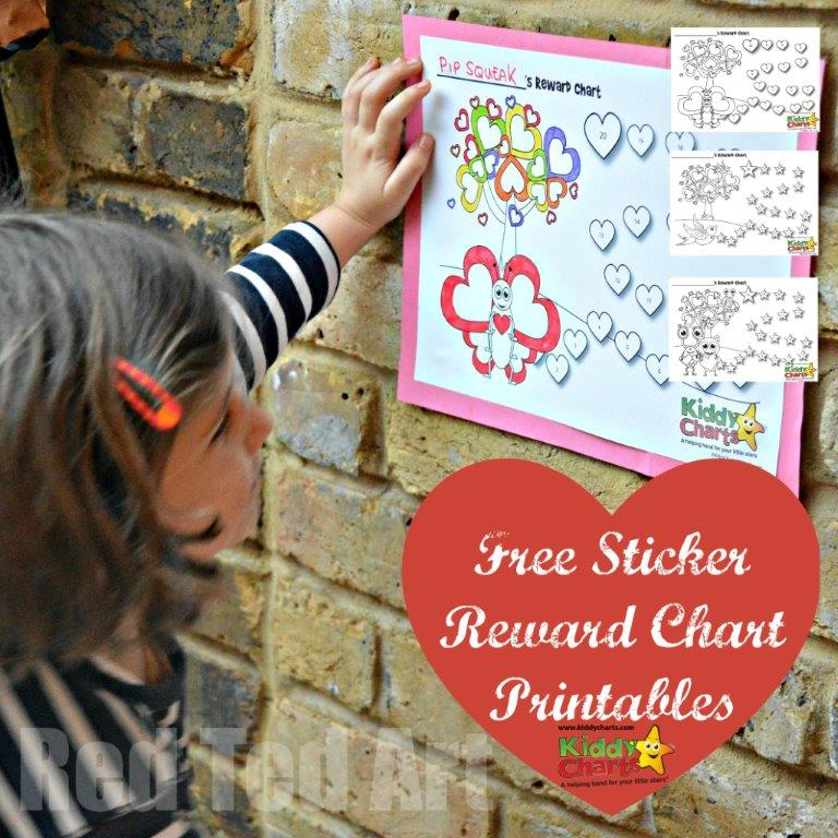 Free Reward Chart Printables – 3 to choose from