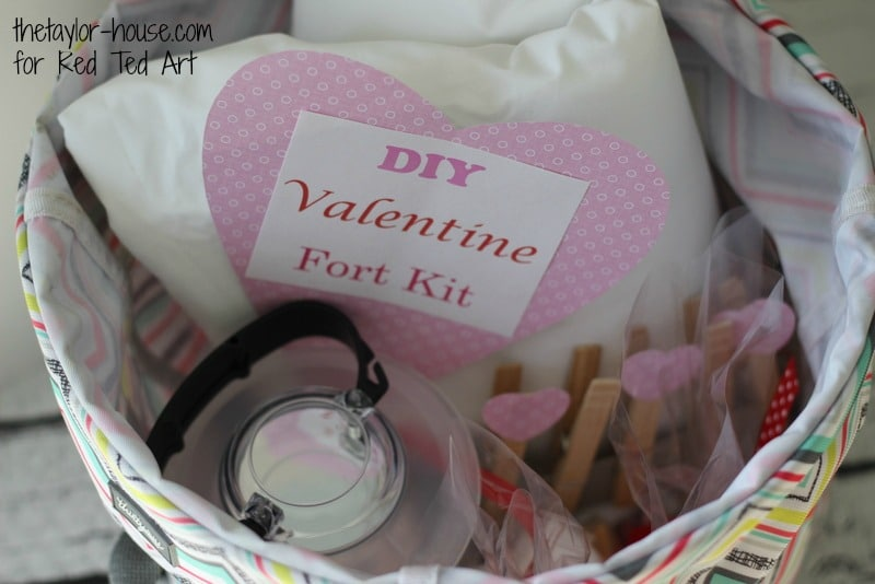 Gifts for Kids this Valentines - Fort Kit