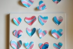 Heart Art Arranging Hearts