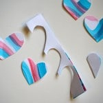 Heart Art Cutting Hearts