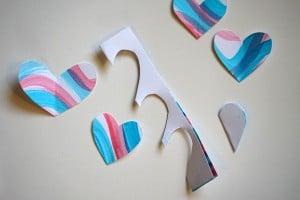 Heart Art Cutting Hearts