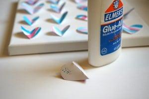 Heart Art glue