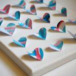 Valentine's Gift: Heart Art Canvas