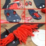 Horse Puppet - No Sew Sock Puppet