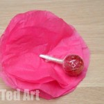 Lollipop Flower How To