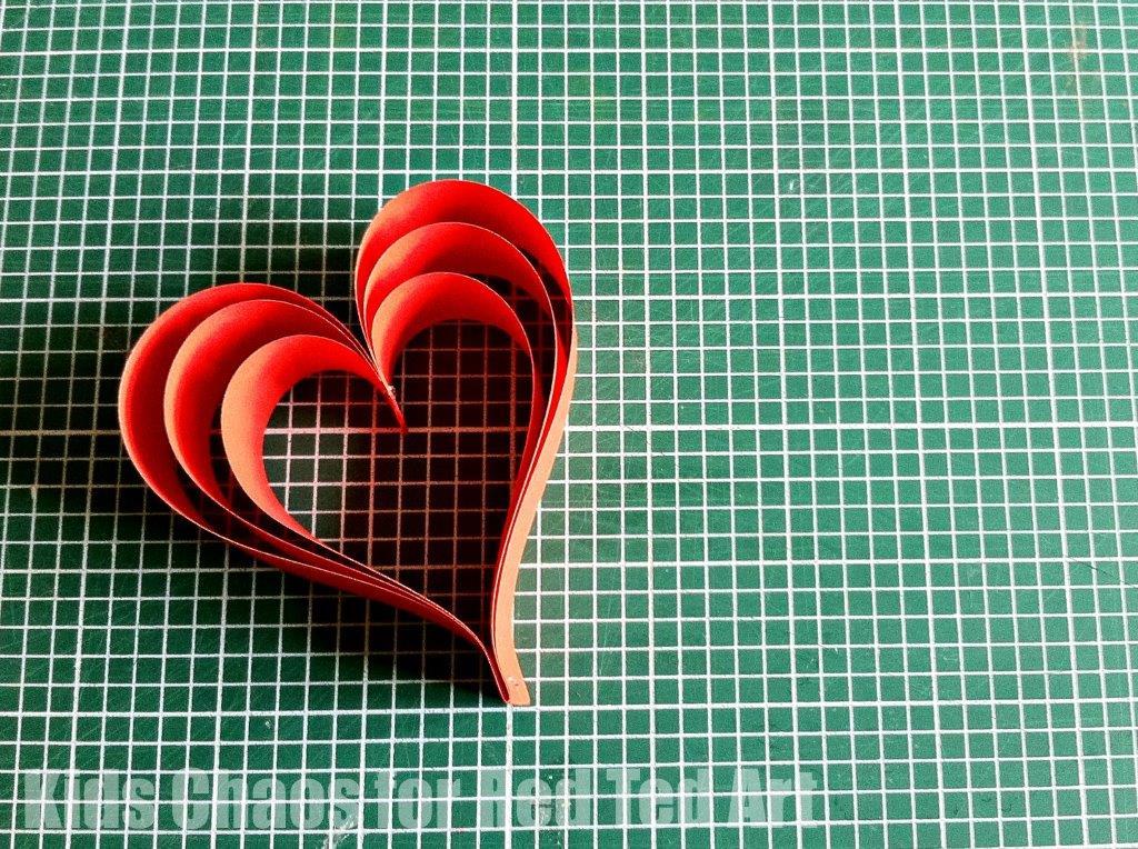 valentine u0026 39 s decorations  paper hearts