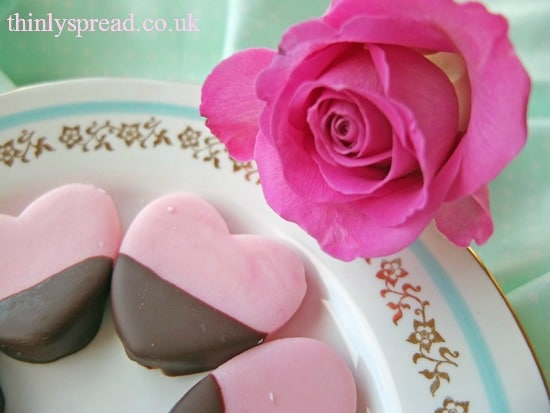 Valentine's Treats: Pink Peppermint Creams