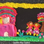 Picture 035 Fairy playdough scene