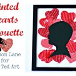 Valentine's Day Ideas: Silhouette Art