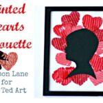 Valentine's Day Ideas: Silhouette Art