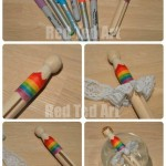 Rainbow Fairy Dolly Peg - Step by Step