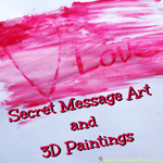 Secret Message Art