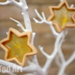 Stained Glass Cookie Recipe - Stars