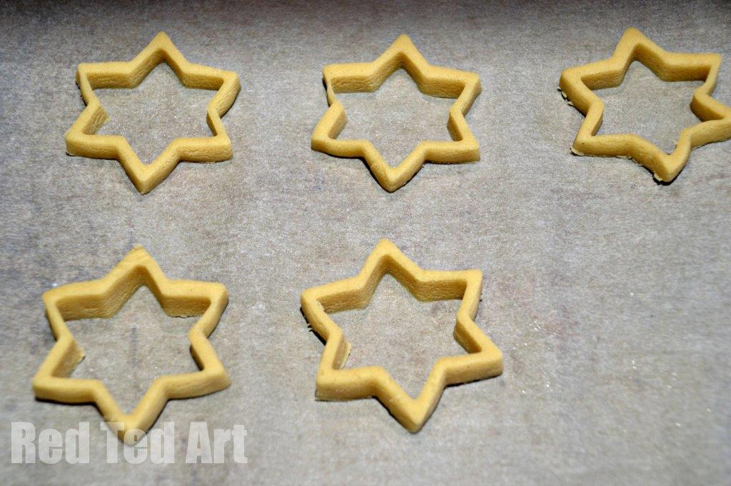 Stained Glass Cookies - Star Ornaments