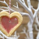 Valentine's Treats: Stained Glass Cookies