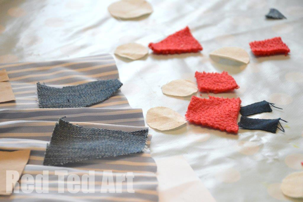 Textile Art for Kids - Exploring Textures