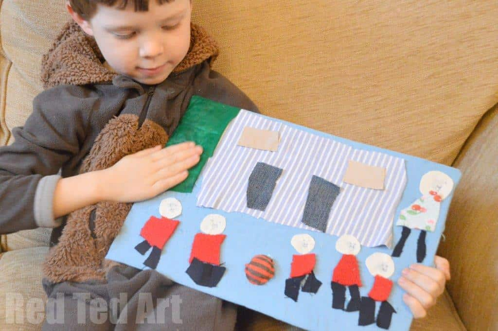 Kids Get Arty: Textile Art for Kids with Janet Bolton