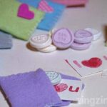 Valentine Felt Envelopes Fill