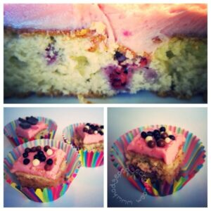 Valentines Day Cake - Raspberry Love Cake