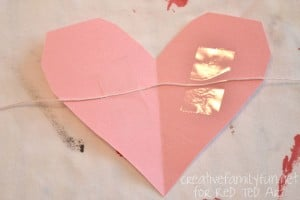 Valentine's Day Decorating Ideas - heart bunting tape