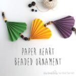 Valentine's Decoration: Paper Heart Garland