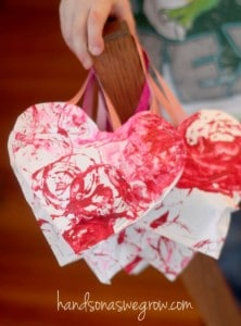 Valentine Crafts For Preschoolers Red Ted Art
