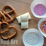 Valentine's Treats - Chocolate Pretzels - Ingredients