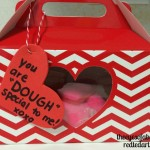 Valentines playdough