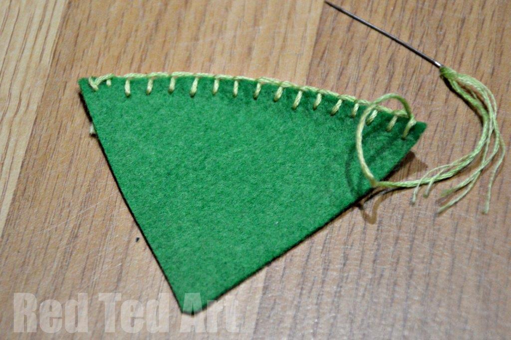 Waldorf Math Gnomes - Felt Hats with Blanket Stitch