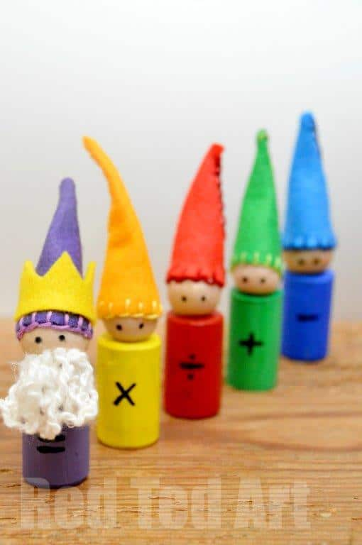 Waldorf Maths Gnomes How To