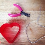 Wire Heart Craft valentines day