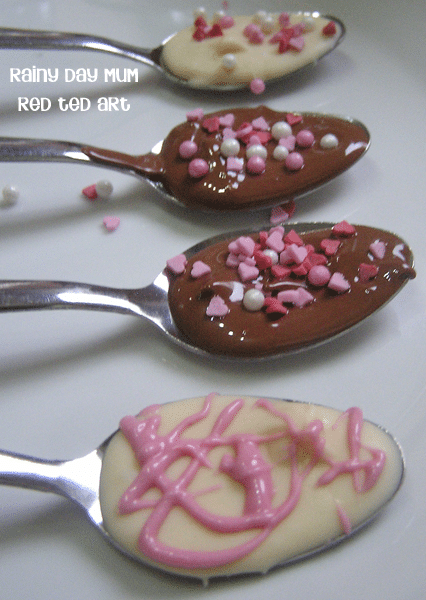 chocolate-spoons