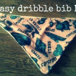 easy dribble bib DIY