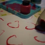 heart shaped stamp