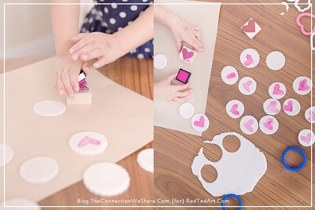 Gifts Kids Can Make – Salt dough hearts