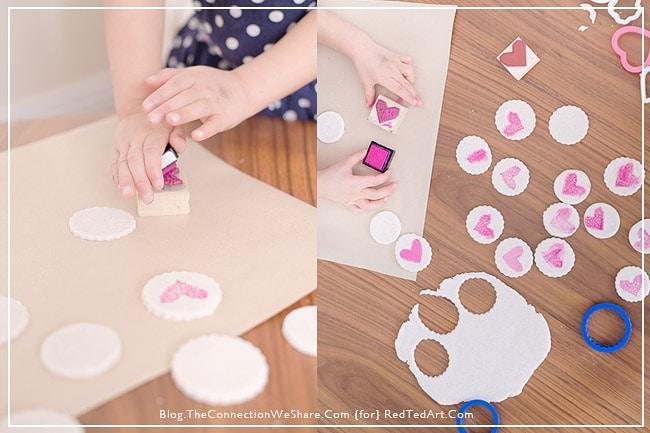 Gifts Kids Can Make - Salt dough hearts