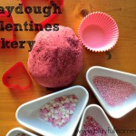 playdough valentines bakery