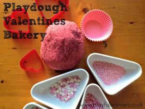 playdough valentines bakery