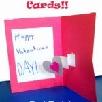pop up valentines cards