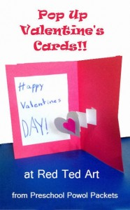 pop up valentines cards