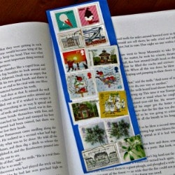 postage stamp bookmarks thumbnaiL