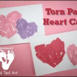 Valentine's Cards For Tots – Paper Hearts