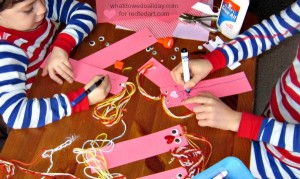 valentines crafts for kids bookmarks craft